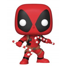 POP MARVEL DEADPOOL W/ CANDY CANES VINYL FIG