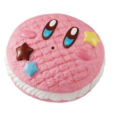 KIRBY SUPER STAR FLUFFY SQUEEZE STAR DONUT KIRBY SAND 9PC DS
