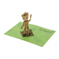GUARDIANS OF THE GALAXY GROOT POP UP CARD
