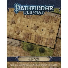 PATHFINDER FLIP MAT MULTI PACK TAVERNS