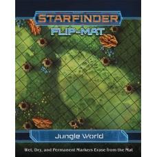 STARFINDER RPG FLIP MAT JUNGLE WORLD