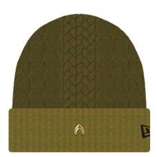 AQUAMAN MOVIE NEW OLIVE CUFF KNIT CAP
