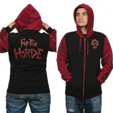 WOW BATTLE FOR AZEROTH HORDE PRIDE HOODIE SM