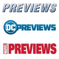PREVIEWS DC and MARVEL CATALOGS IN YOUR REGULAR MONTHLY SHIPMENT