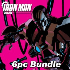 IRON MAN 2020 #1 REG AND VARIANT BUNDLE @A