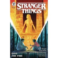 STRANGER THINGS INTO THE FIRE #1 (OF 4) CVR A KALACHEV @S