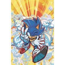 SONIC THE HEDGEHOG #25 CVR A HESSE @S