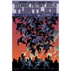 TMNT ONGOING TP VOL 19 INVASION OF THE TRICERATONS @D