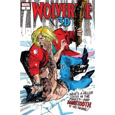 WOLVERINE VS SABRETOOTH 3D #10 @G