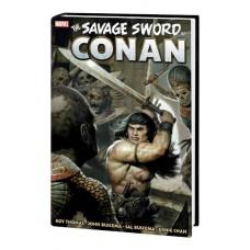 SAVAGE SWORD CONAN ORIG MARVEL YRS OMNIBUS HC VOL 03 (MR) @D