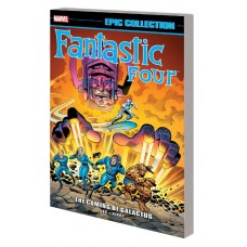 FANTASTIC FOUR EPIC COLLECTION COMING GALACTUS TP NEW PTG @D