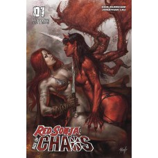 RED SONJA AGE OF CHAOS #1 CVR A PARRILLO @T