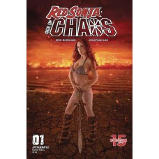 RED SONJA AGE OF CHAOS #1 CVR E COSPLAY @D