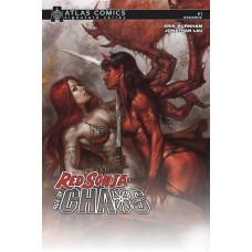 RED SONJA AGE OF CHAOS #1 BURNHAM SGN ATLAS ED @D
