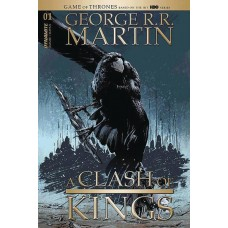 GEORGE RR MARTIN A CLASH OF KINGS #1 CVR D GUICE (MR) @D