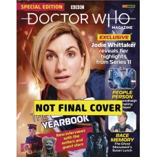DOCTOR WHO MAGAZINE SPECIAL #54 YEAR BOOK @F