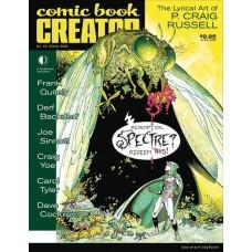 COMIC BOOK CREATOR #22 @F