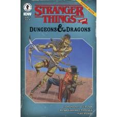 STRANGER THINGS D&D CROSSOVER #3 CVR D BECK