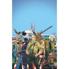 GI JOE A REAL AMERICAN HERO YEARBOOK #1