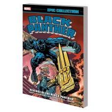BLACK PANTHER EPIC COLL TP REVENGE OF BLACK PANTHER NEW PTG