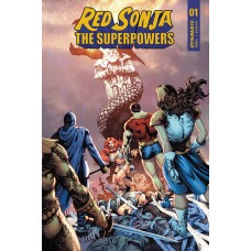RED SONJA THE SUPERPOWERS #1 CVR C LAU
