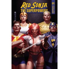 RED SONJA THE SUPERPOWERS #1 CVR D YOON