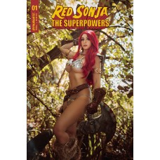 RED SONJA THE SUPERPOWERS #1 CVR E LYONS COSPLAY