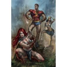 RED SONJA THE SUPERPOWERS #1 PARRILLO LTD VIRGIN CVR