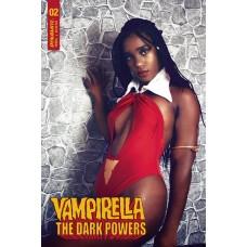 VAMPIRELLA DARK POWERS #2 CVR E VANTA BLACK COSPLAY