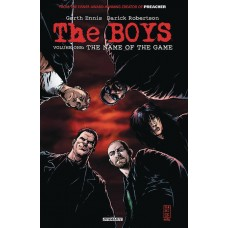 BOYS TP VOL 01 NAME OF THE GAME (MR)
