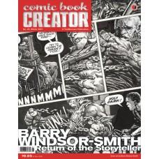 COMIC BOOK CREATOR #25 (C: 0-1-1)