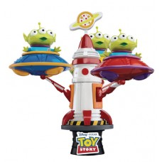 TOY STORY DS-052DX ALIEN SPIN UFO D-STAGE 6IN STATUE (C: 1-1
