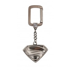 DC SUPERMAN LOGO PEWTER KEY RING (C: 1-1-0)