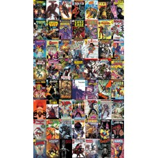 MARVEL LEGACY ONE-SHOT + ALL 54 LEGACY 3D LENTICULAR COVERS 55-PC SET