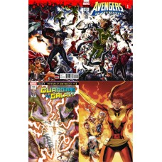 AVENGERS #675 GUARDIANS #150 PHOENIX #1 3D LENTICULAR COVERS 3PC SET