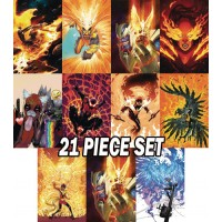 MARVEL PHOENIX THEME VARIANT OCTOBER 21-PC SET
