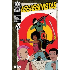 ASSASSINISTAS #1 CVR A HERNANDEZ (MR)