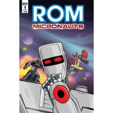 ROM & THE MICRONAUTS #1 (OF 5) CVR A WENTWORTH