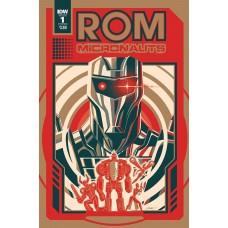 ROM & THE MICRONAUTS #1 (OF 5) CVR B CALTSOUDAS
