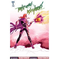 TRANSFORMERS VS THE VISIONARIES #1 (OF 5) CVR B GRIFFITH