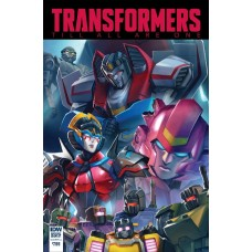 TRANSFORMERS TILL ALL ARE ONE ANNUAL 2017 CVR A PITRE-DUROCH