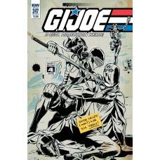 GI JOE A REAL AMERICAN HERO #247 CVR B ARTIST ED GALLANT