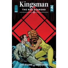 KINGSMAN RED DIAMOND #4 (OF 6) CVR A HAMNER (MR)
