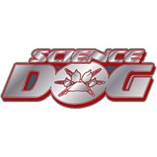 SCIENCE DOG LOGO PIN