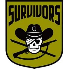 WALKING DEAD SURVIVORS FACTION PIN