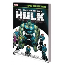 INCREDIBLE HULK EPIC COLLECTION TP FALL OF PANTHEON