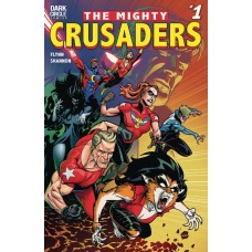 MIGHTY CRUSADERS #1 CVR A SHANNON
