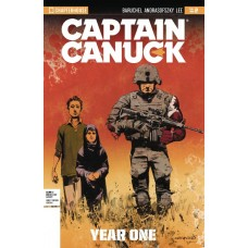 CAPTAIN CANUCK YEAR ONE #2 VIRGIN ART