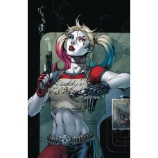 DF HARLEY QUINN 25TH ANNIVERSARY SPECIAL #1 LEE SGN
