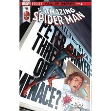 DF AMAZING SPIDER-MAN #789 LEE & ROMITA SR SGN